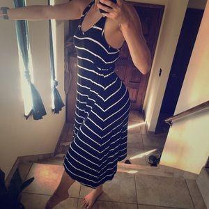Small Charlotte Russe Black/White Striped Dress 👗